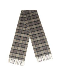Ensemble cadeau écharpe et gant Barbour pour homme en coloris Gray