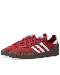 Montreal 76 AQ1016 Chaussures Adidas pour homme en coloris Red