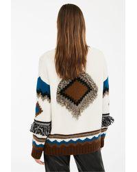 Cardigan in lana alpaca e filato mohair di Weekend by Maxmara in Multicolor
