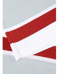 Sunspel Red Classic Stripe T-shirt for men