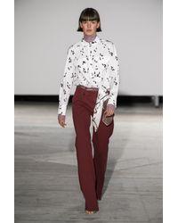 Pantalones de algodón orgánico Nia Baum und Pferdgarten de color Red