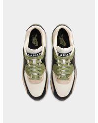 Nike Green Air Max 90 Lahar Escape Cream Alligator Black Shoes for men