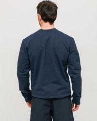 Sweat classique bleu marine à étiquette P-6 Label Patagonia pour homme en coloris Blue
