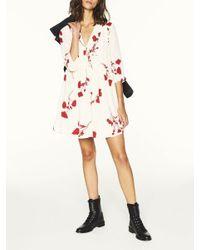 Vestido de pensamiento en crudo Ba&sh de color Multicolor