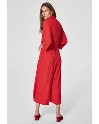 Combinaison Tanna Rouge Rouge À Lèvres SELECTED en coloris Red