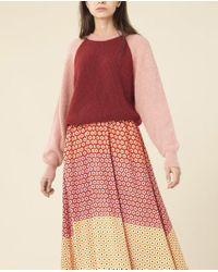 Mélange de couleurs Jack Knit Stine Goya en coloris Red