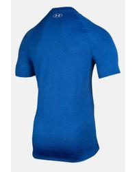 Camiseta Tech Manga Corta Azul Under Armour de hombre de color Blue