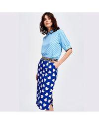 Falda de sylis Essentiel Antwerp de color Blue