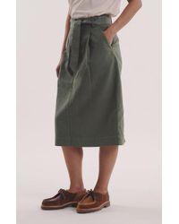 Bibi Skirt In Olive di YMC in Green