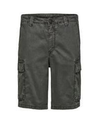 Shorts cargo de Brock por SELECTED de hombre de color Gray