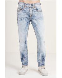 True Religion   Blue Rocco Skinny Super T Mens Jean for Men   Lyst