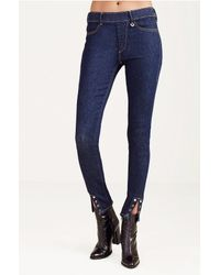 True Religion | Blue Becky Vera Cruz Boot-cut Jeans | Lyst