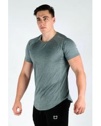 Twotags Blue Cool Sweat V3 T-shirt for men
