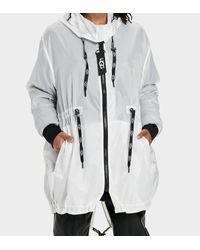 Ugg Multicolor Brittany Hooded Anorak Jacke für