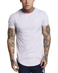 Sik Silk Multicolor Short Sleeve Gym T-shirt for men
