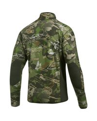 Under Armour Green Men's Ua Stealth Fleece Jacket for men