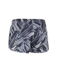 Under Armour Blue Women's Ua Fly-by Printed Knit Short