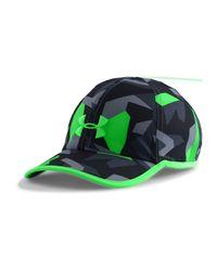 Under Armour Green Men's Ua Shadow Run Cap for men