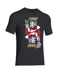 Under Armour Black Men's Ua Basketball King Of Court T-shirt for men