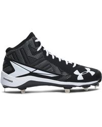 Under Armour | Multicolor Men's Ua Yard Mid St Baseball Cleats for Men | Lyst