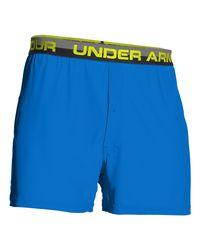 """Under Armour - Blue Men's Ua Original Series 6"""" Boxer Shorts for Men - Lyst"""