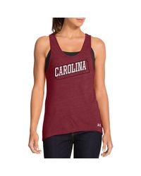 Under Armour Red Women's ® Legacy South Carolina Charged Cotton Tri-blend Tank