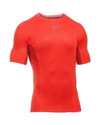 Under Armour Black Men's Ua Coolswitch Short Sleeve Compression Shirt for men
