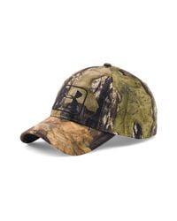 Lyst - Under Armour Men s Ua Camo Stretch Fit Cap for Men 5480a37115e9