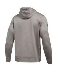 Under Armour - Gray Men's Nfl Combine Authentic Wordmark Hoodie for Men - Lyst