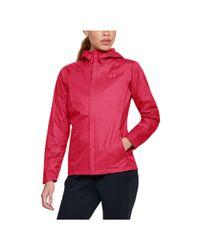 Under Armour Pink Women's Ua Overlook Jacket