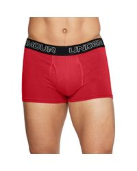 "Under Armour - Multicolor Men's Charged Cotton® 3"" Boxerjock® – 3-pack for Men - Lyst"