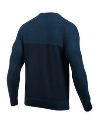 Under Armour Blue Men's Ua Wool Sweater for men