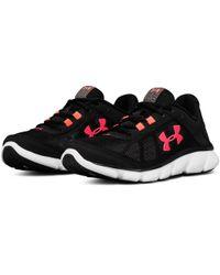 Under Armour Black Women's Ua Micro G® Assert 7 Running Shoes