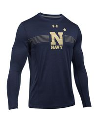 Under Armour - Blue Men's Naval Academy Long Sleeve Training T-shirt for Men - Lyst