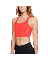 Under Armour Multicolor Women's Ua Breathelux Perforated Mid Sports Bra