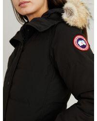 Canada Goose Black Daunenparka 'Shelburne' Schwarz