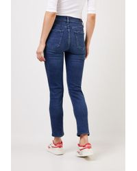 Citizens of Humanity Blue Highrise-Jeans 'Harlow' Blau