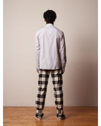 J.W. Anderson - White Cargo Trousers (cuff Strap) for Men - Lyst
