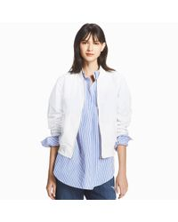 Uniqlo - Blue Women Bomber Jacket - Lyst