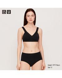 U Bragas Bikini Sin Costuras Uniqlo de color Black