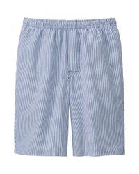 Uniqlo - Metallic Men's Steteco Cotton Shorts for Men - Lyst