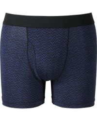 Uniqlo - Blue Men Airism Boxer Briefs for Men - Lyst