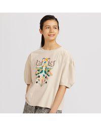 Anna Sui UT Camiseta Gràfica Uniqlo de color Multicolor