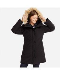 Uniqlo - Black Ultra Warm Down Short Hooded Coat - Lyst