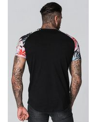 Good For Nothing - Black Raglan T-shirt for Men - Lyst