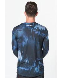 11 Degrees - Blue Sub Long Sleeve T-shirt for Men - Lyst