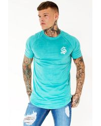 Sinners Attire | Blue Suede Tee for Men | Lyst