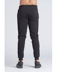 Kings Will Dream Gray Stanford Cuff Velour Panel Jogger for men