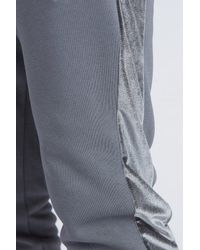 Kings Will Dream - Gray Stanford Cuff Velour Panel Jogger for Men - Lyst