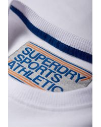 Superdry - Blue Trophy Chest Band Tee for Men - Lyst